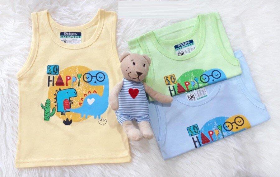 Baju Atasan Singlet Anak Ridges So Happy XL 20090057