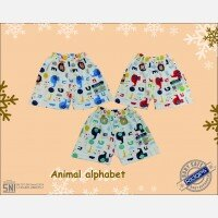 Celana Pendek Anak Ridges Animal Alphabet S 20120041