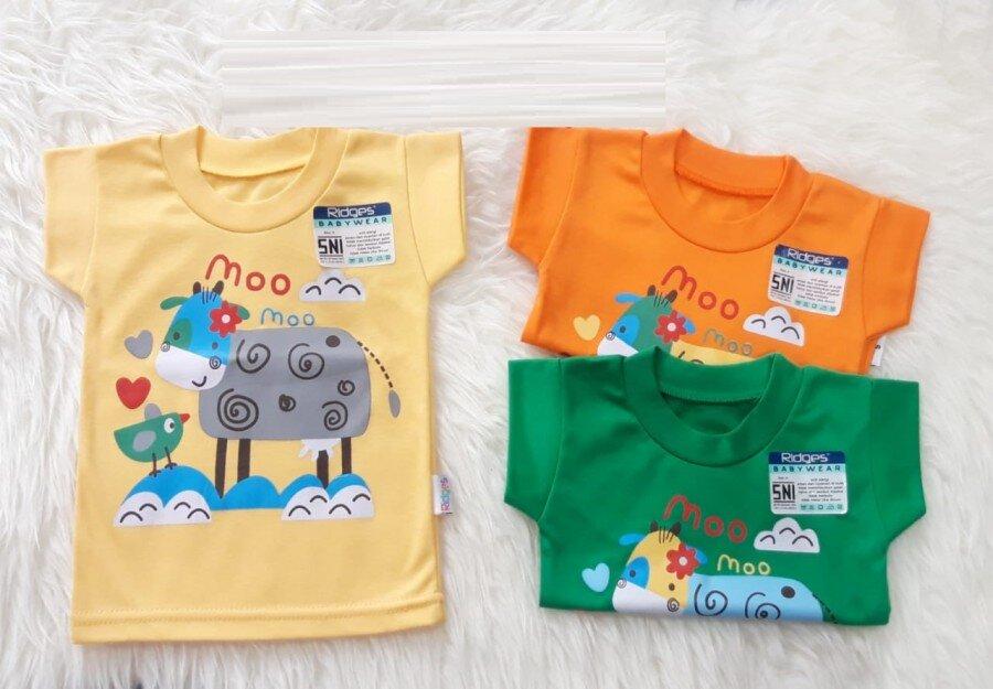 Atasan Kaos Anak Ridges Moo Moo L 20120007