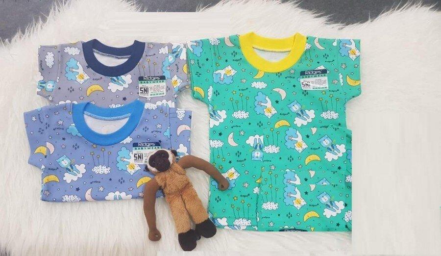 Baju Atasan Kaos Anak Ridges Dream Bears L 20070040