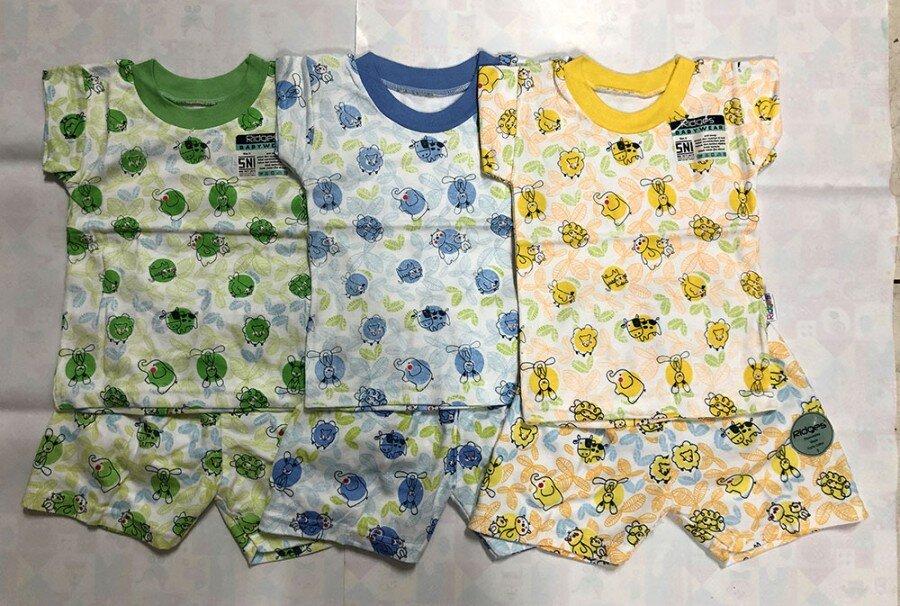 Baju Atasan Kaos Anak Ridges Bird Leaves L 20110080 (Atasan Saja)