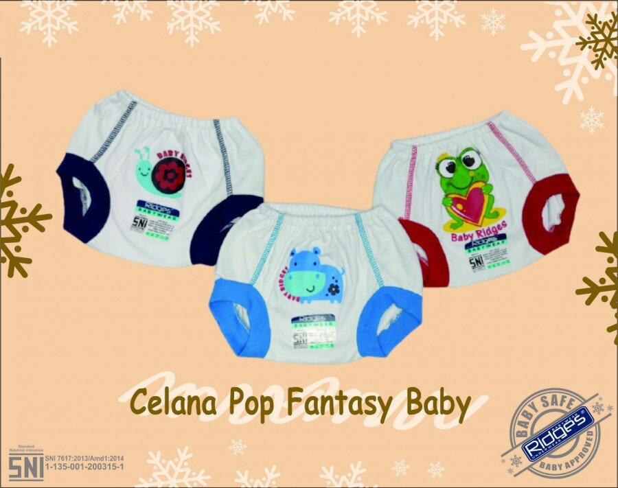 Celana Pop Ridges NewBorn Fantasy Baby 20120097