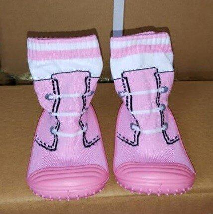 Skidder Anak / Sepatu Bayi Prewalker Tali Pink 21010024