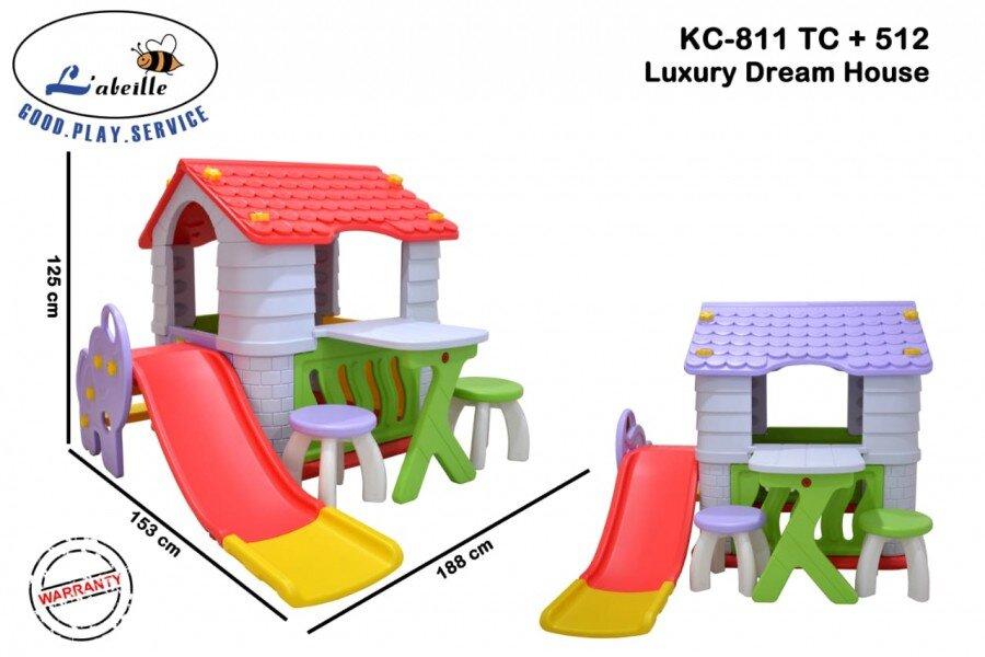 Mainan Perosotan Anak Luxury Dream House