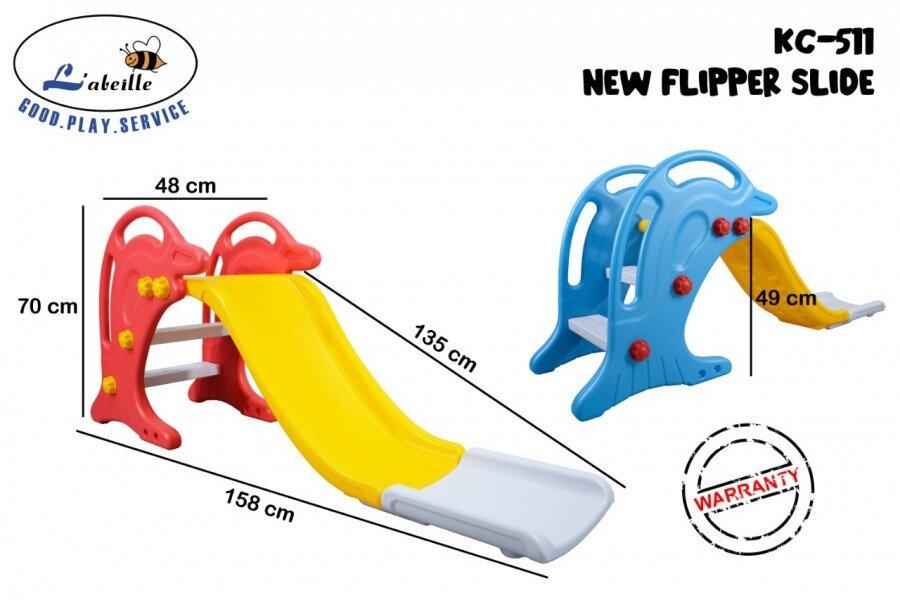 Mainan Perosotan Anak New Flipper Slide