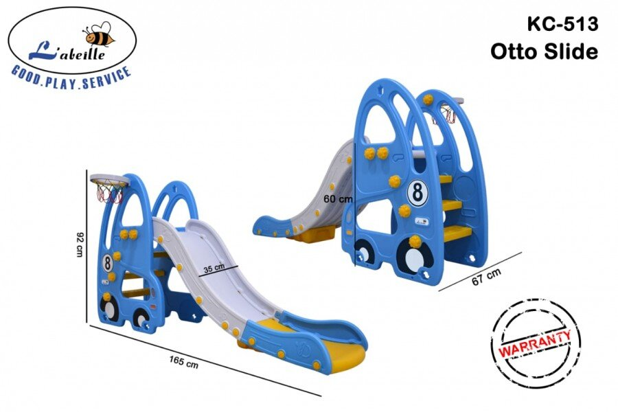 Mainan Perosotan Anak Otto Slide