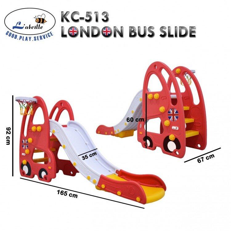 Mainan Perosotan Anak London Bus Slide