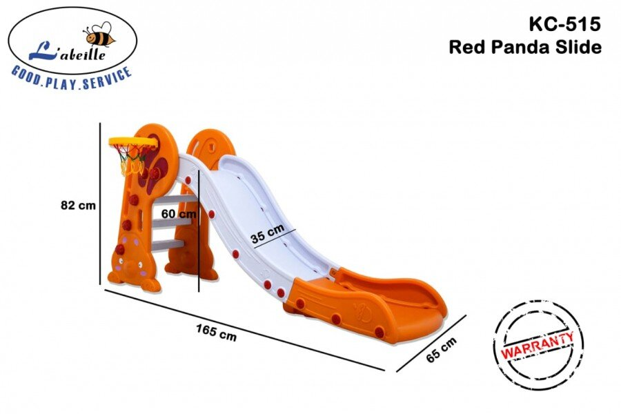 Mainan Perosotan Anak Red Panda Slide