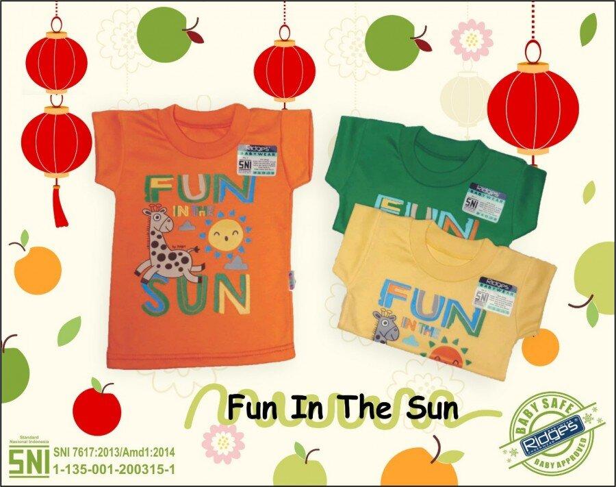 Atasan Kaos Anak Ridges Fun In the Sun L 21030003