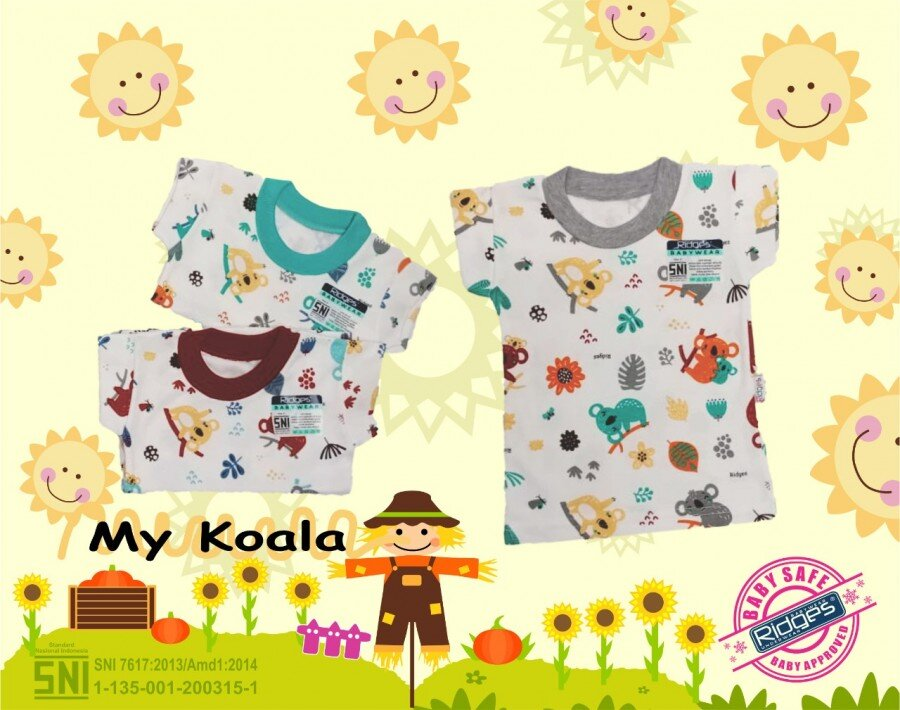Baju Atasan Kaos Anak Ridges My Koala S 21040036