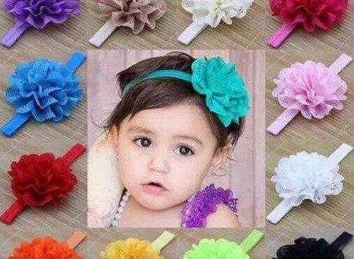 Bandana Bayi / Bandana Anak Bunga Besar 21030076