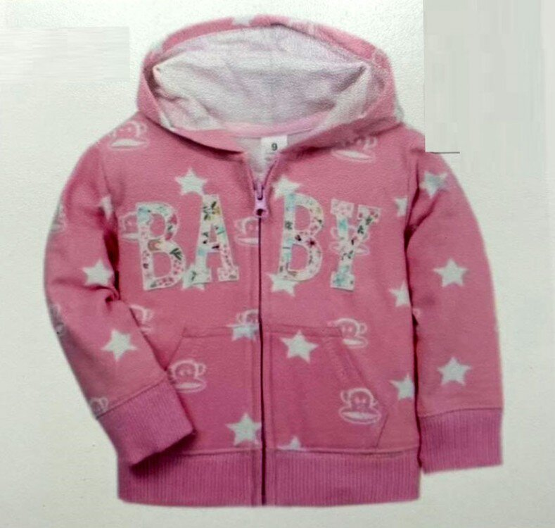 Jaket Import Anak Baby Star Pink  21020065