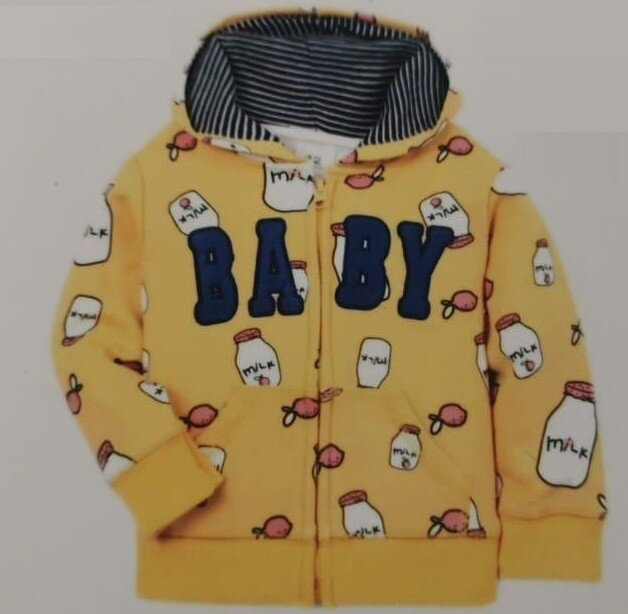 Jaket Import Anak Baby Milk Kuning 21040015