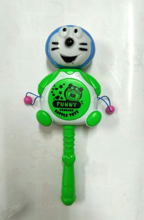 Mainan Kerincingan Bayi Doraemon Tamborin 21030081