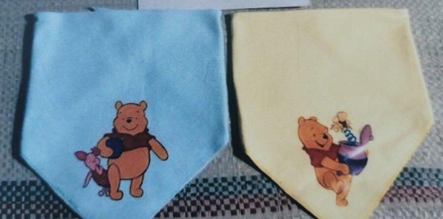 Slaber Segitiga 2pcs Pooh Baby Grow 21020114