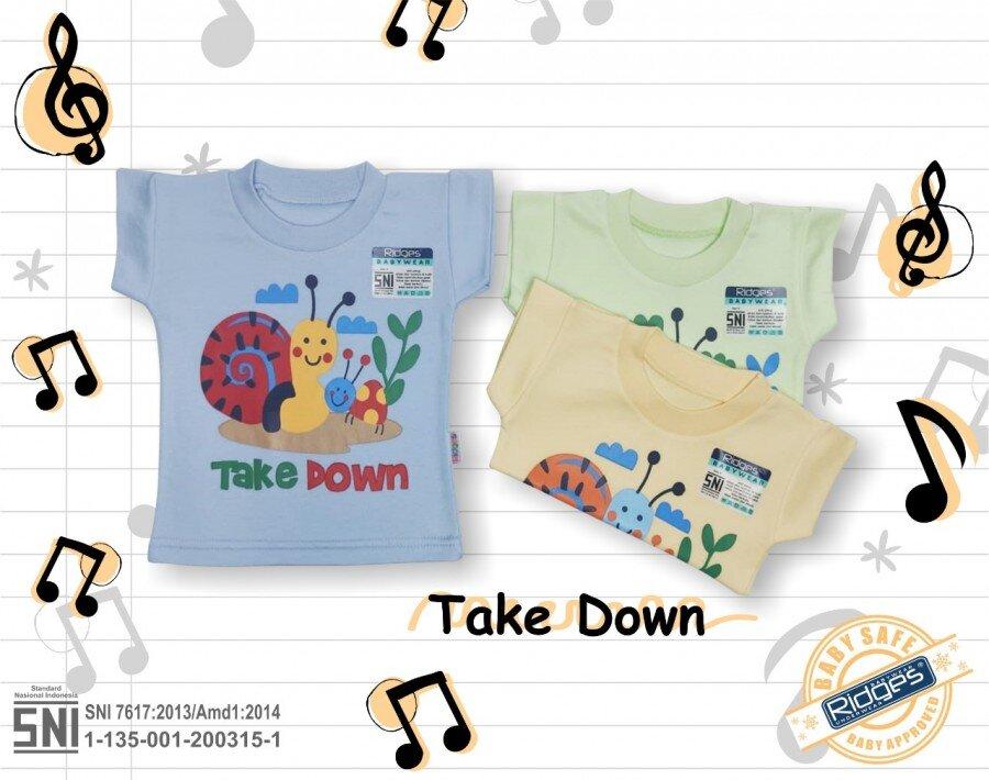 Baju Atasan Kaos Anak Ridges Siput XL 21010044