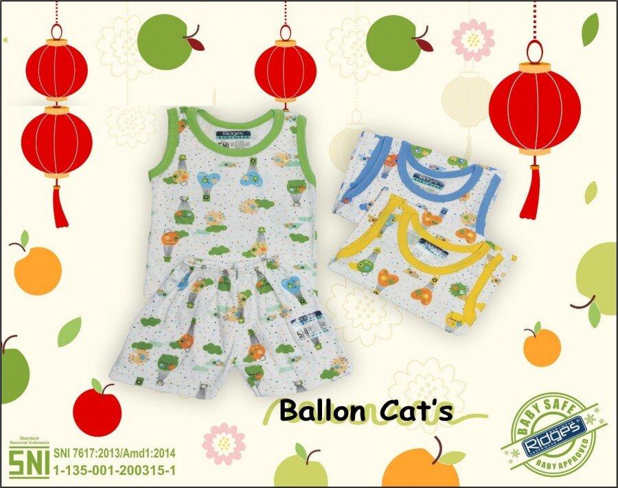 Baju Atasan Singlet Anak Ridges Ballon Cat M 21020028 (Atasannya Saja)