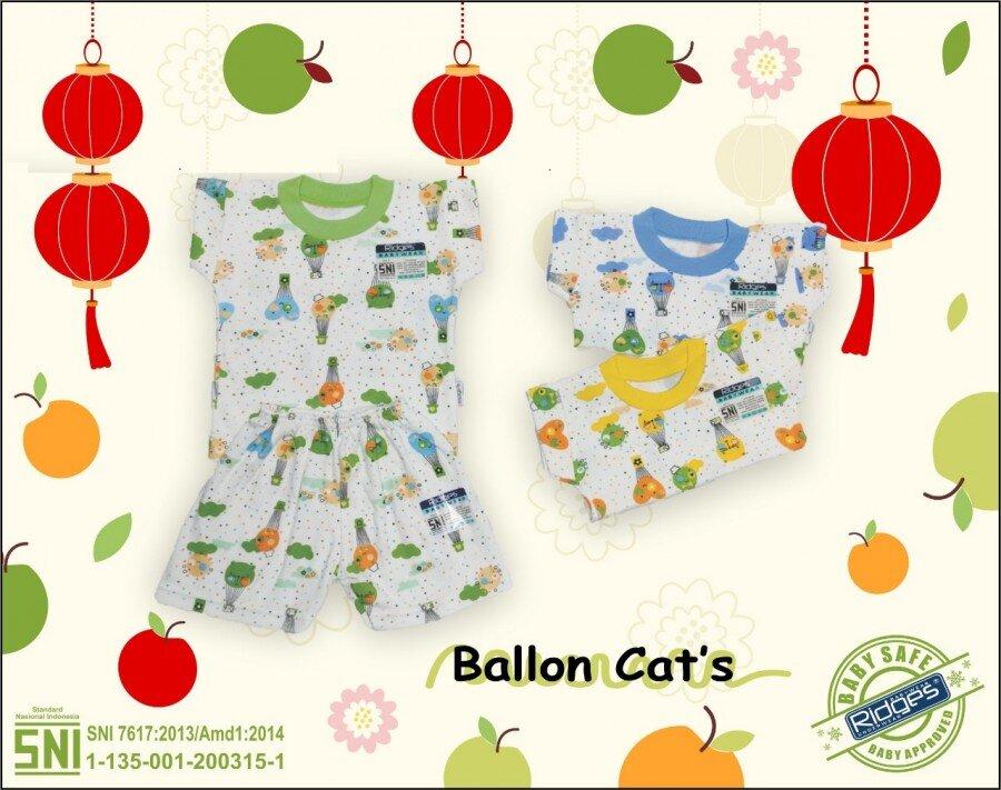 Baju Atasan Kaos Anak Ridges Ballon Cat L 21020033 (Atasan Saja)