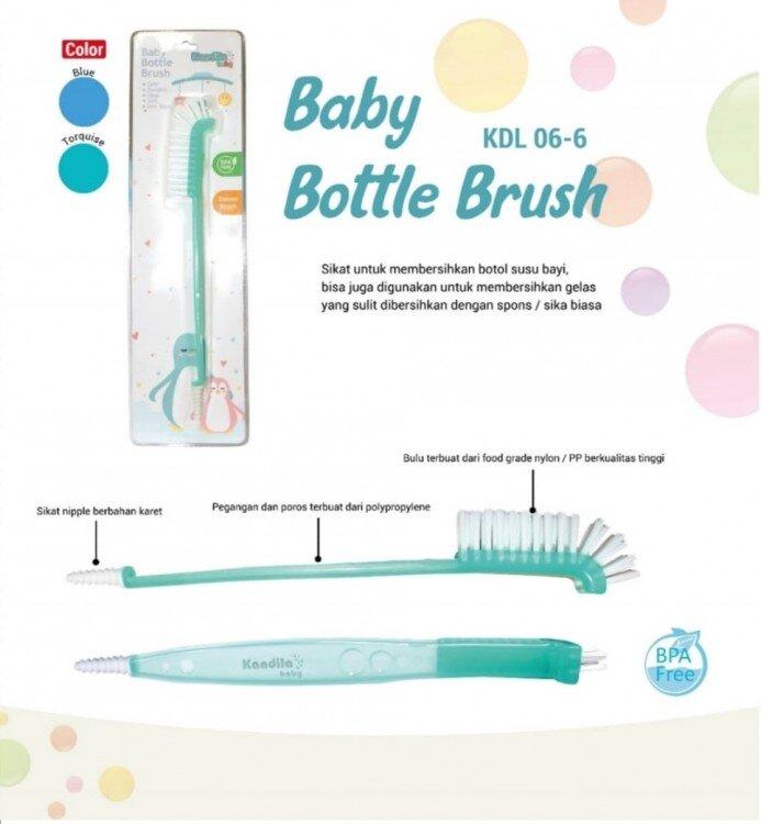 Sikat Botol Bayi Kandila / Baby Bottle Brush 21040080