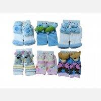 Kaos Kaki Rattle Bayi Anti Slip Baby Grow 21050011